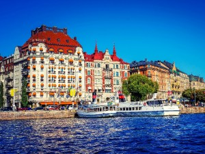 Shore excursion in Stockholm