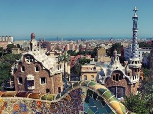 Shore excursion in Barcelona
