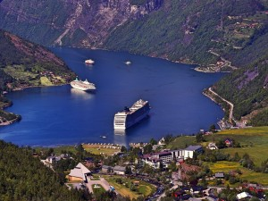 Shore excursion in Norway