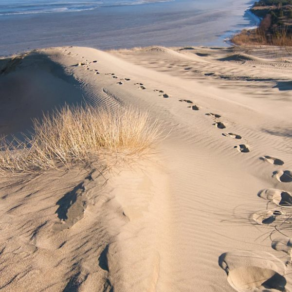 Fascinating view from the Parnidis Dune