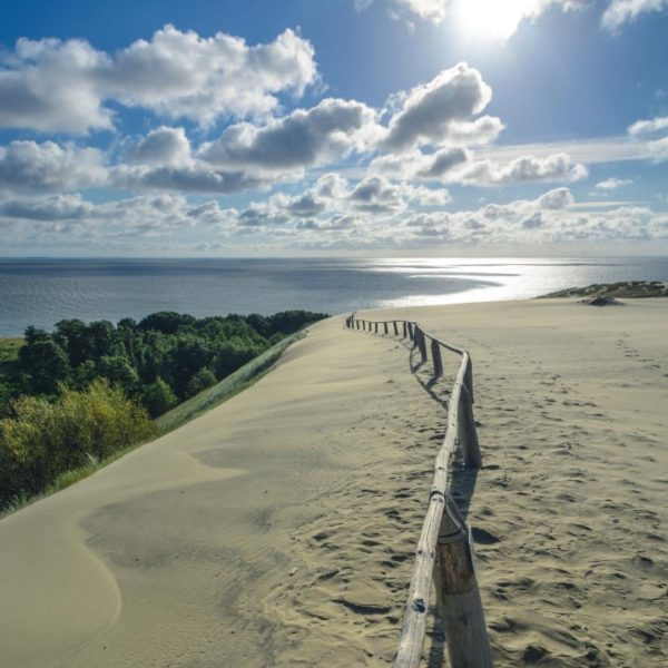 Impressive view from the Parnidis Dune