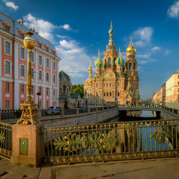 St. Petersburg evening