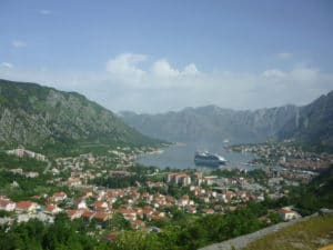 Southernmost fjord of Europe