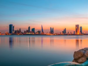 Marvel at the skyline of Manama