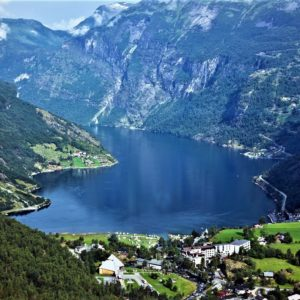 Shore excursion in Geiranger