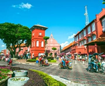 Shore excursion in Malacca