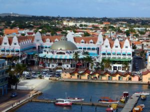 Oranjestad is considered a shopping paradise with its shopping malls