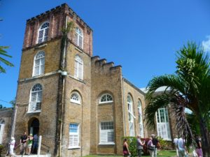 Oldest cathedral in Belize City