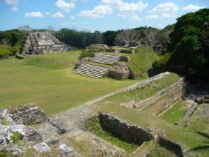 Maya site in Belize city