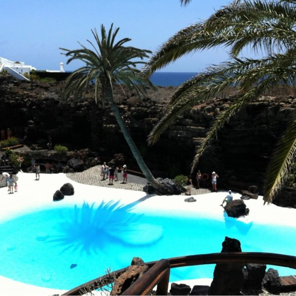 One of the most important works by César Manrique on Lanzarote